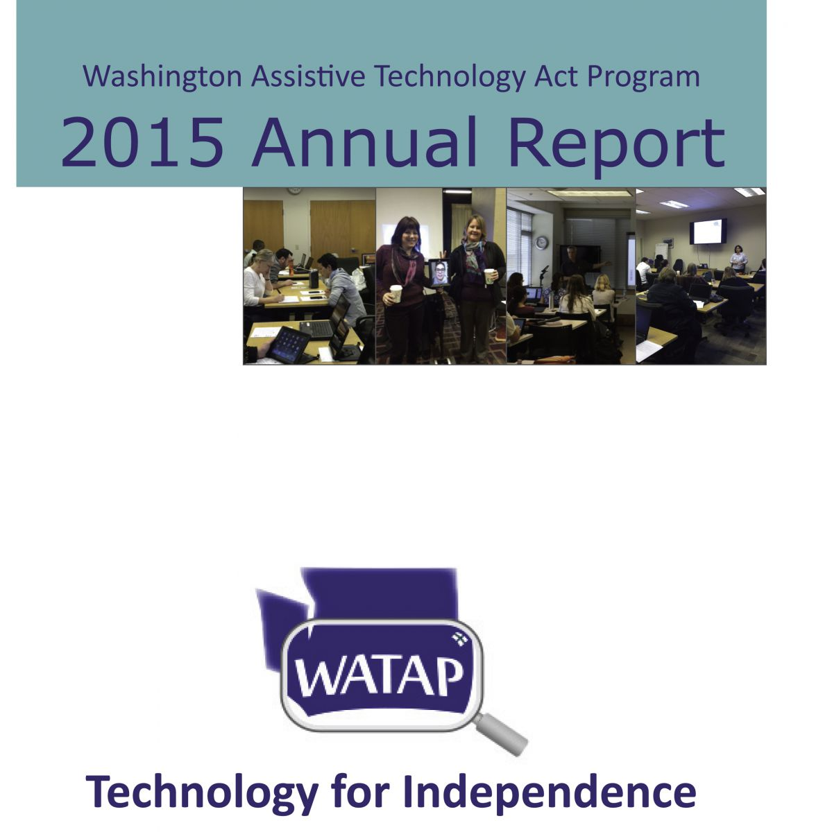 WATAP Annual Report for 2015